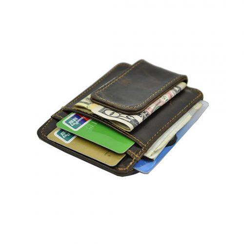 Kožni novčanik sa štipaljkom – idealan poklon